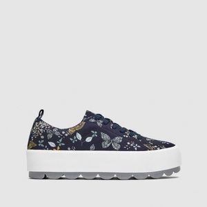 Zara BUTTERFLY SNEAKERS